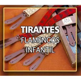 TIRANTES FLAMENCOS INFANTIL